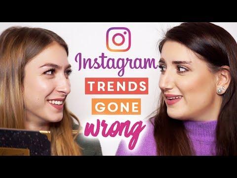 INSTAGRAM TRENDS GONE WRONG 🚫 con La Retrò (видео)