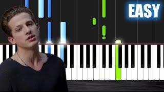 Video Charlie Puth - One Call Away - EASY Piano Tutorial by PlutaX MP3, 3GP, MP4, WEBM, AVI, FLV Juni 2018