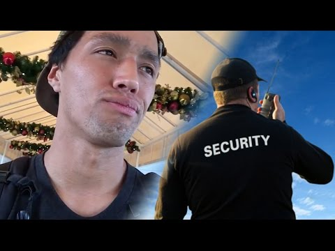 Security Assumes Skaters are Poor