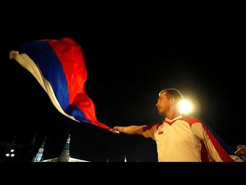 Μουντιάλ 2018: Οι Ρώσοι πανηγύρισαν τη νίκη της ομάδας τους…