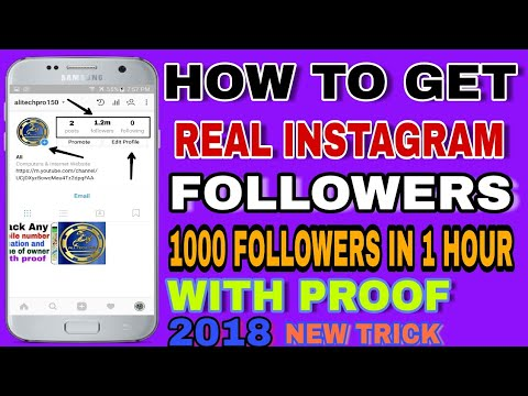 How to increase instagram followers 2018    100% working    Latest trick