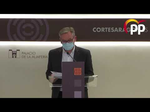 El PP propone al Gobierno aragonés crear una asesoría para las víctimas de la ocupación de viviendas