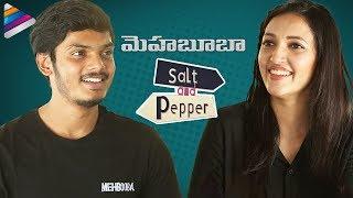 Video Akash Puri and Neha Shetty SALT & PEPPER Interview | Mehbooba Movie | Puri Jagannadh | Charmi MP3, 3GP, MP4, WEBM, AVI, FLV Mei 2018