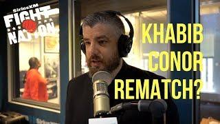 Video Khabib vs. McGregor Immediate Rematch? | SiriusXM | Luke Thomas MP3, 3GP, MP4, WEBM, AVI, FLV November 2018