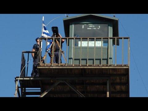 Κράτηση Τούρκων στρατιωτικών στον Εβρο