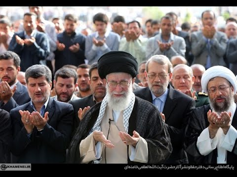 Ayatullah Khamenei Leads Eid Prayers 2014