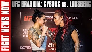 UFC Fight Night Brasilia: Cyborg vs. Lansberg Preview on Fight News Now by Fight Network