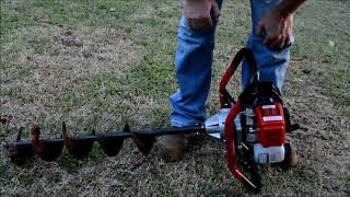 6. Harbor Freight Auger #63022 - Test and Review