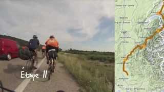 Timelapse : 1300km à vélo [version longue]