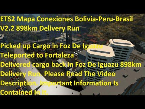 Map Conexiones Bolivia Peru-Brasil v2.2
