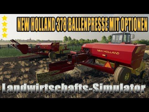 New Holland 378 Baler with Options v1.2.0.0