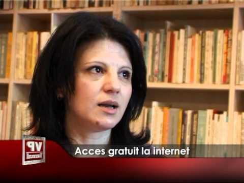 Acces gratuit la internet