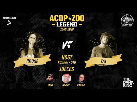 ROUSE vs TAI - ACDPZOO LEGEND  Cuartos de FINAL ACDPZoo Platinum ( Original FULL HD )