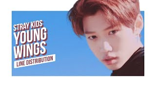 Video Stray Kids - Young Wings Line Distribution (Color Coded) | 스트레이 키즈 - 어린 날개 MP3, 3GP, MP4, WEBM, AVI, FLV Januari 2018