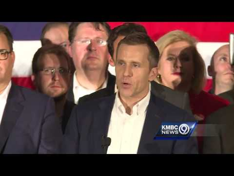 Eric Greitens celebrates win in Missouri governor's race