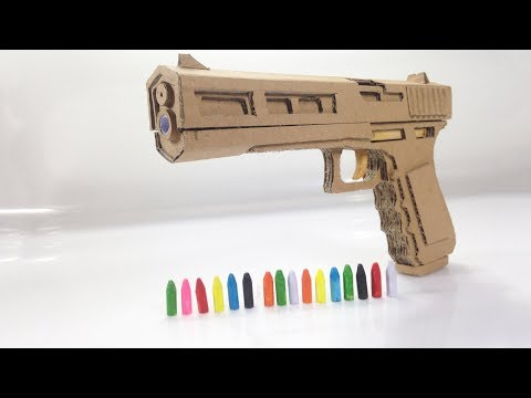 Beautiful Design | How To Make Cardboard Gun