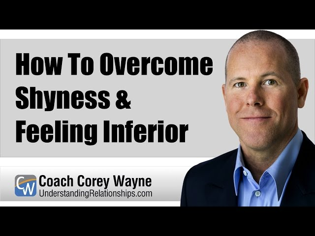 Overcoming Shyness and Anxiety