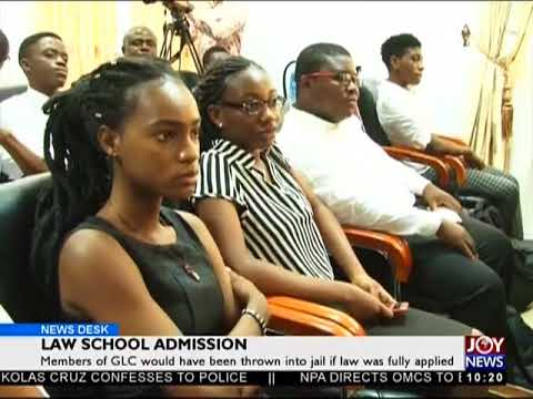 Law School Admission - News Desk on JoyNews (16-2-18)