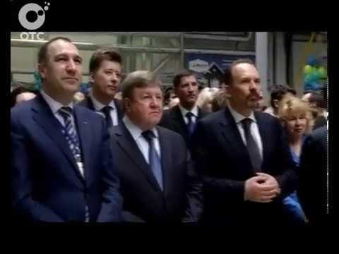 В Новосибирской области запустили уникальный завод Открыл предприятие министр строительства России