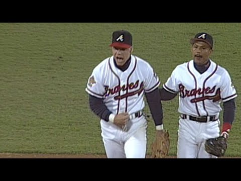 Video: 1995 WS Gm2: Wohlers retires Baerga to seal the Braves' Game 2 win