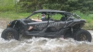 10. CAN AM MAVERICK X3 X RS FLOODED RIVER RUN