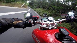 8. Boys Bikes Ranges #4 - Downhill Run on Ducati 1000 MultiMotard Project Bike