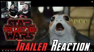 Video Star Wars: The Last Jedi Trailer Reaction MP3, 3GP, MP4, WEBM, AVI, FLV Oktober 2017