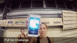 Pull Up Challenge with Sasha DiGiulian and Amaya Bayne by Sasha DiGiulian