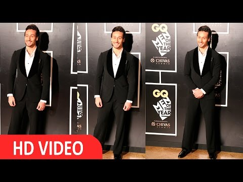 Tiger Shroff At Red Carpet Of GQ Men Of The Year Awards