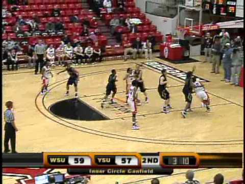 Wright State beats Youngstown State 64 to 61