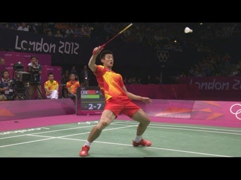 Chong Wei Lee v Chen Long - Badminton Singles Semi-Final | London 2012 Olympics