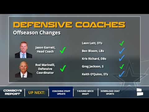 Cowboys' 2018 Coaching Staff: All The Changes And Which Coaches Return