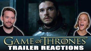 JON meets DAENERYS!?! -- GAME OF THRONES Season 7 Episode 3 Preview REACTION! Subscribe...