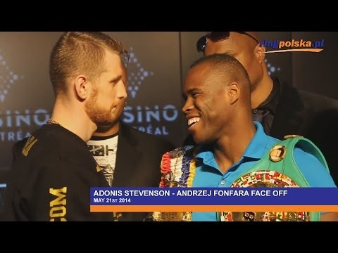 Andrzej Fonfara-Adonis Stevenson final press conference