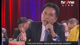 "Download Video ILC ""Golkar Rusuh"" : Yusril :""Surat Keputusan Menkumham Cacat Dan Melanggar Hukum"" MP3 3GP MP4"