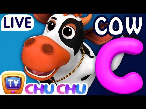 ChuChu TV Nursery Rhymes & Kids Songs Live Stream - ABC Phonics Song