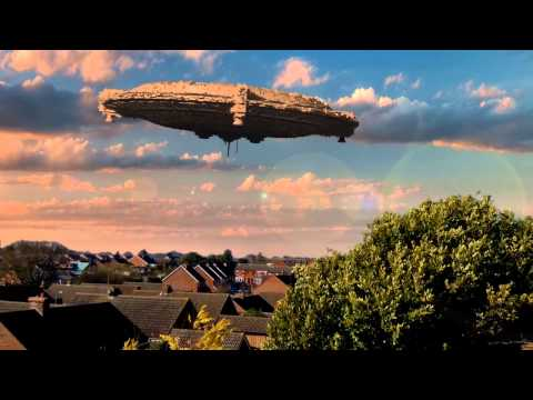 Alien ship over Spixworth Norfolk amazing footage.