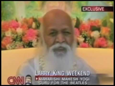 Maharishi e Larry King 5/5