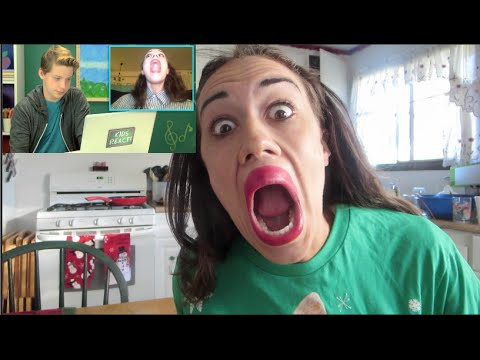 Miranda Reacts to Kids Reacting to Miranda Sings