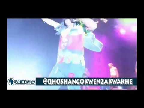 "QHOSHANGOKWENZAKWAKHE PERFORMING DURING IMPUCUZEKO ""MASKANDI WORLD CUP"" FESTIVAL ON 22 JULY 2017"