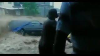 Tropical Storm Erika is slamming the Caribbean hard, bringing dangerous flash flooding to Dominica. Sabra Luke is in the island nation and joined CBSN with m...