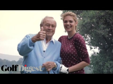 Sneak Peek: Kate Upton & Arnold Palmer