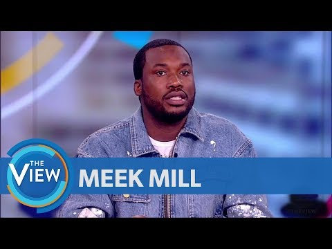 Meek Mill Speaks Out About Gun And Drug Conviction | The View