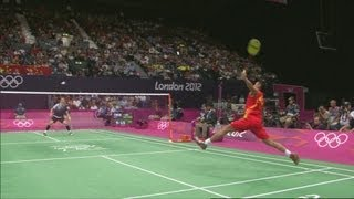 Badminton Highlights, Video - Lin Dan (CHN) Wins Badminton Semi-Final v Lee Hyun Il (KOR) - London 2012 Olympics