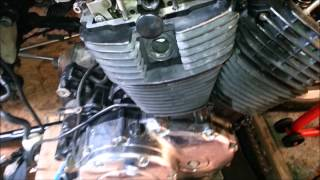 10. Cam Chain removal without special tool KA50100   2005 Honda vt100