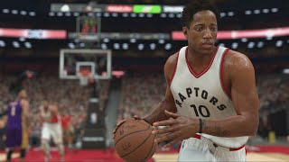 NBA 2K17 | RAPTORS VS SIXERS | ALLEN IVERSON 94 DE MEDIA GAMEPLAY