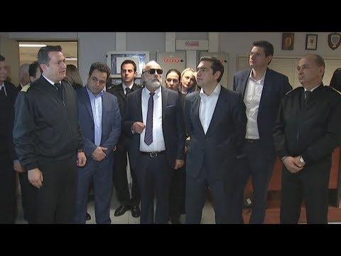 Το Ενιαίο Κέντρο Συντονισμού Έρευνας και Διάσωσης του ΛΣ επισκέφθηκε ο πρωθυπουργός