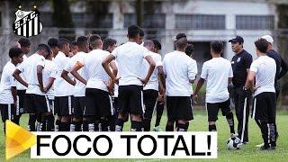 FOCO TOTAL! Próximos de alcançarem a decisão do Paulistão, os Meninos da Vila do Sub-15 estão treinando forte, para assegurarem a vaga na final!