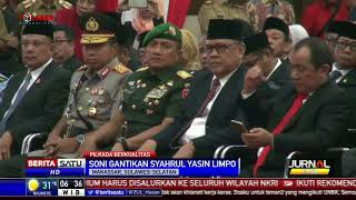 Soni Sumarsono Resmi Dilantik Sebagai Gubernur Sulsel