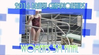 Grace Reid is determined to stake her claim to represent GB at the Olympics. See her dive into top place at Ponds Forge, Sheffield.